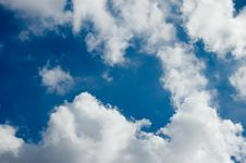 Free Sky And Clouds Royalty Free Stock Photos - 3350858