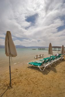 Free Beach Parasols Stock Photography - 3351432