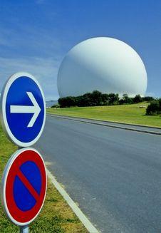 Free Radar Station No.1 Stock Image - 3351771