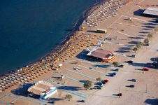 Free Beach Aerial View Royalty Free Stock Images - 3351829