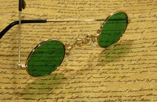 Free Vintage Eyeglasses Stock Images - 3352064