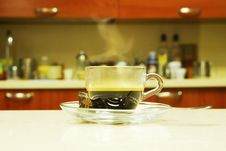 Free Morning Coffee Royalty Free Stock Photography - 3352317