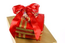 Free Gift Box Royalty Free Stock Images - 3353279