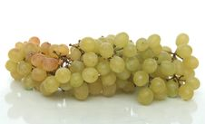 Cluster Of Green Tasty Grapes Royalty Free Stock Image