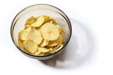 Free Dish Of Chip Royalty Free Stock Photography - 3355207
