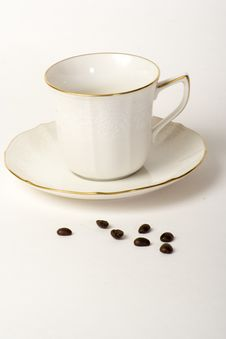 Free Coffe Cup And Saucer Stock Images - 3355564