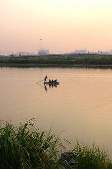 Free Fishing Boats Stock Image - 3355661