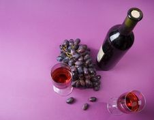 Free Glasses Of Wine Stock Photography - 3355692