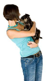 Free I Love My Puppy Royalty Free Stock Image - 3356996