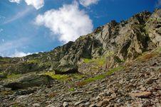 Free Rocky Mountains Landscape Royalty Free Stock Photo - 3357035