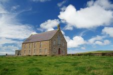 Free Orkney Church Royalty Free Stock Photo - 3357555