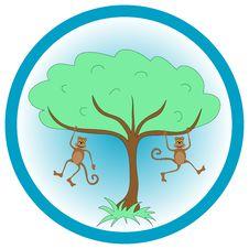 Free Monkey Graphic Stock Image - 3357771