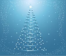 Free Christmas Tree - Vector Royalty Free Stock Images - 3357889