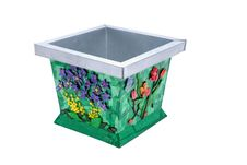 Free Tin Bucket With Flowers Stock Images - 3358144