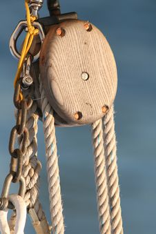 Free Ship Rigging Royalty Free Stock Image - 3358516