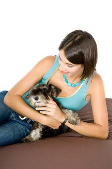 Love My Puppy! Stock Image