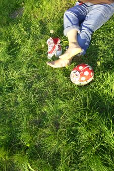 Free Resting Feet Stock Photo - 3358960