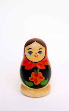 Free Painted Wooden Doll Stock Photography - 3359072