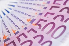 Free Euro Banknotes Royalty Free Stock Photography - 33500427