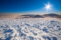 Free Sun And Snow Mountains Landscape Royalty Free Stock Photography - 33512527