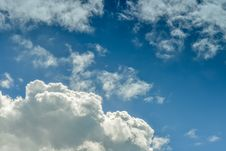 Free White Clouds On Blue Sky Royalty Free Stock Photos - 33512398