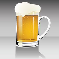 Free Beer Mug Royalty Free Stock Photo - 33513555