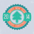 Free Christmas Emblem Royalty Free Stock Photo - 33527675