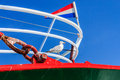 Free Seagull On A Fishingboat. Stock Photo - 33553920