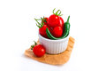 Free Tomato And Chili Stock Image - 33555531