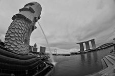 Free Merlion Singapore Stock Photo - 33554390