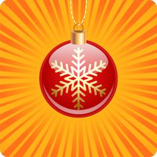 Free Christmas Ball Stock Photography - 33556422