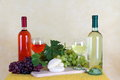 Free Wine, Cheese And Grapes Stock Photos - 33562473