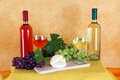 Free Wine, Cheese And Grapes Stock Images - 33562534