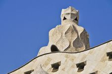Free La Pedrera, Barcelona Stock Photography - 33560612