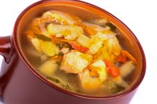 Free Fish Soup Stock Images - 33566234