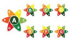 Free Energy Label Stock Image - 33568141