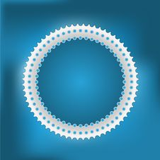 Vector Abstract Circle Royalty Free Stock Photography