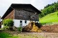 Free Barn In Austrian Farm Royalty Free Stock Image - 33578376