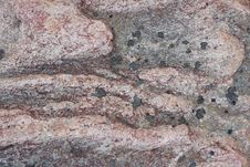 Surface Of Natural  Dark Red Stone