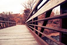Free Bridge Over The River Royalty Free Stock Photo - 33575545