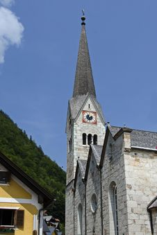 Free Evangelical Church In Hallstatt Royalty Free Stock Photography - 33576467