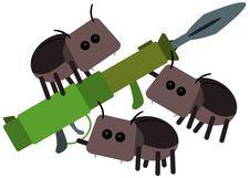 Free Beetle Bazooka Royalty Free Stock Photo - 33598835