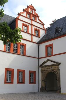 Free Architecture Of Castle Ehrenstein In Ohrdruf, Thuringia, Germany Royalty Free Stock Image - 33599176