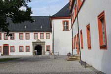 Free Courtyard Of Castle Ehrenstein In Ohrdruf, Thuringia, Germany Stock Images - 33599194