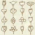 Free Grunge Flowers (vector) Stock Photography - 3367372