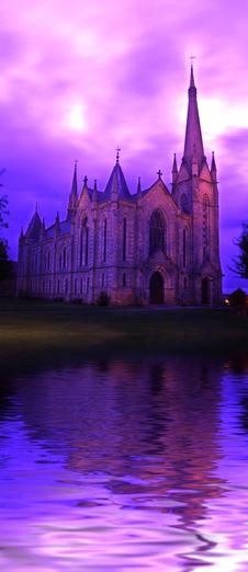 Parish Church Stock Photo