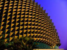 Singapore Esplanade Theater Stock Image