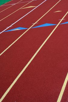 Free Running Track Stock Images - 3362034