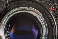 Free Old Photo Camera Lens Stock Photo - 3362450