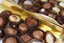Free Chocolates Stock Images - 3363044
